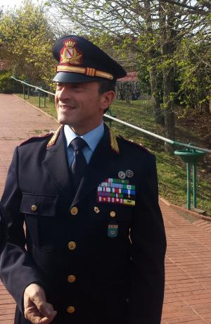 Neo comandante Vigili Enzo Salsano