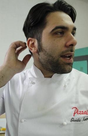 Antonio Guida pizzaiolo