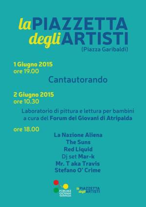 Piazzetta degli Artisti eventi
