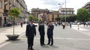 Vigili in piazza1