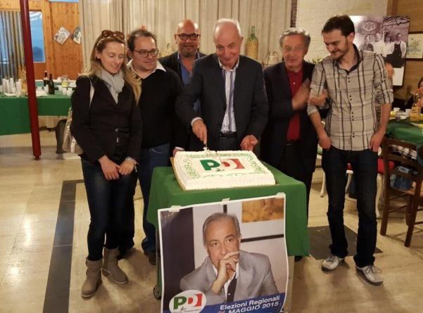 senatore Enzo De Luca ad Atripalda