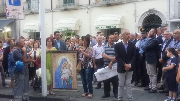 Alzata pannetto Madonna del Carmine 2