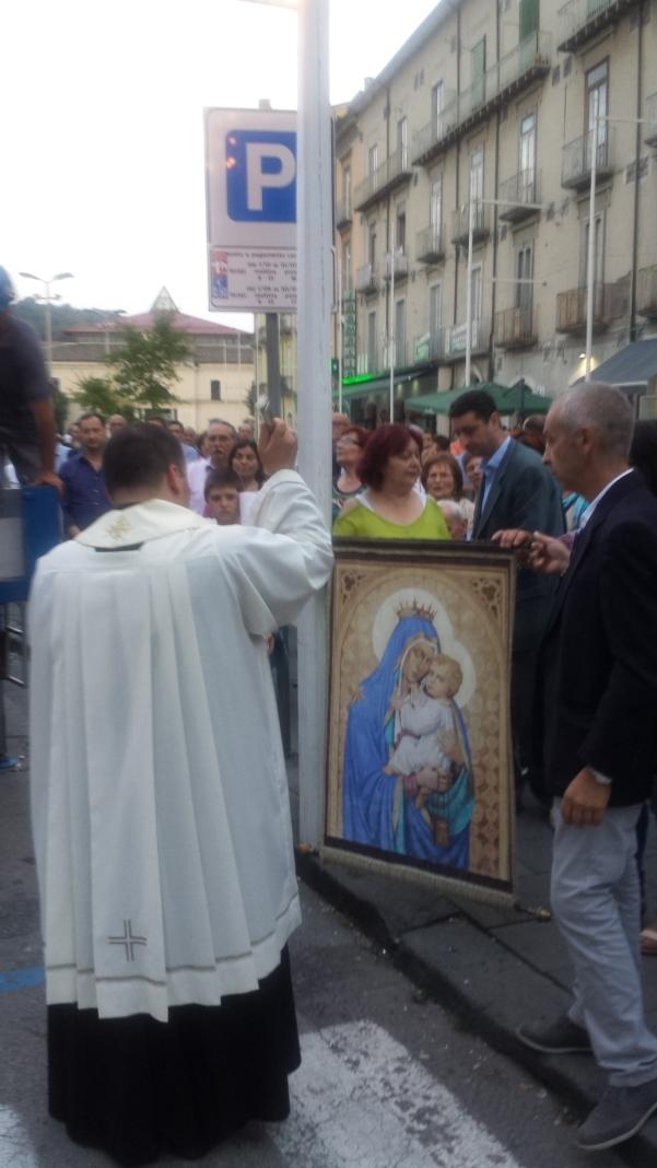 Alzata pannetto Madonna del Carmine 3