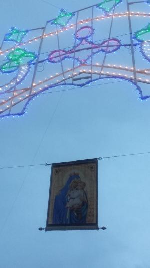 Alzata pannetto Madonna del Carmine 4