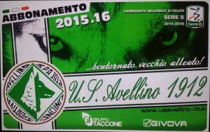 Campagna abbonamenti Avellino 2015-2016