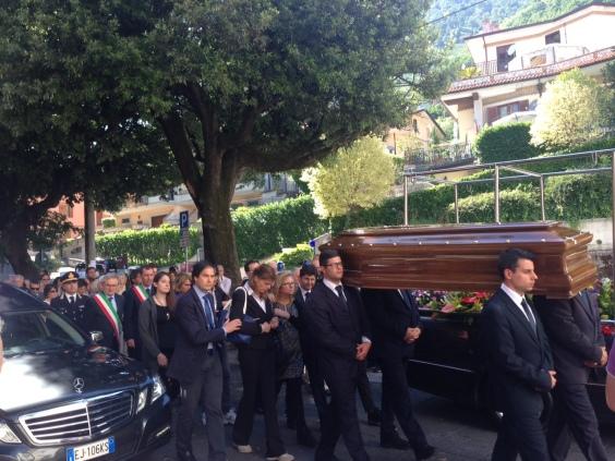 Funerale prefetto Sbrescia