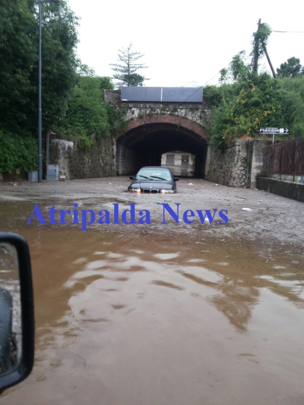 Maltempo 2015, via Ferrovia 3 - Atripalda News