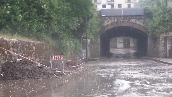 Maltempo, riaperto il ponte della Ferrovia