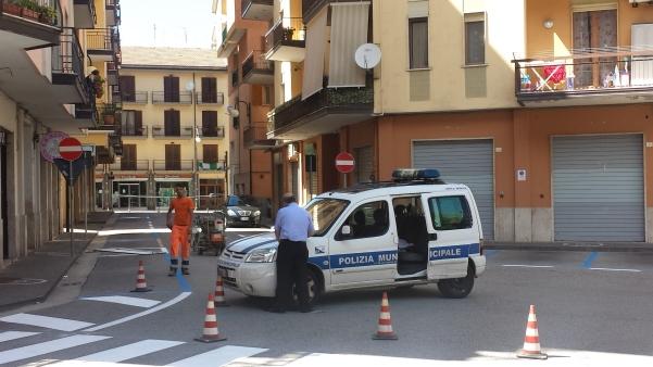 Strisce blu in piazza Cassese2