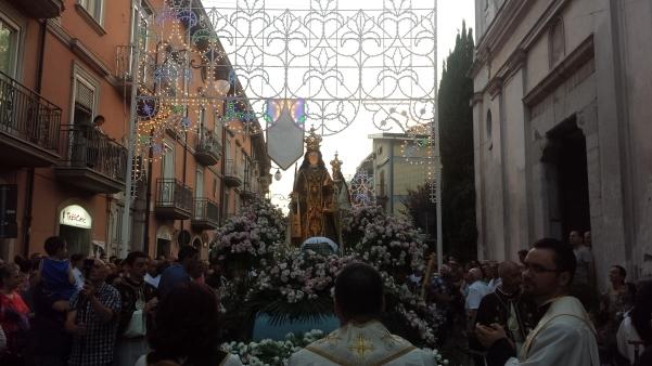 Maria Santissima del Carmelo 2015, processione1