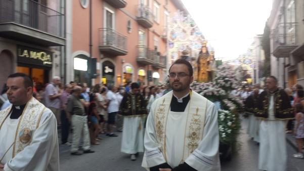 Maria Santissima del Carmelo 2015, processione2