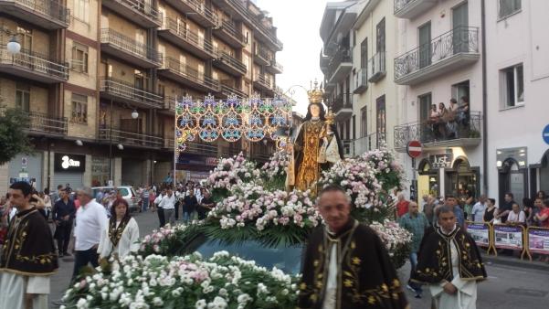 Maria Santissima del Carmelo 2015, processione3