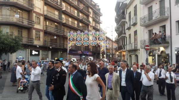 Maria Santissima del Carmelo 2015, processione5