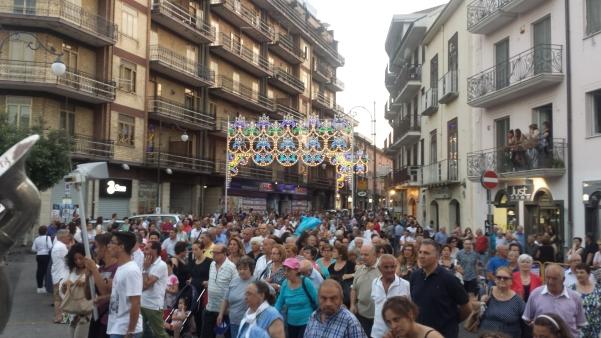 Maria Santissima del Carmelo 2015, processione6