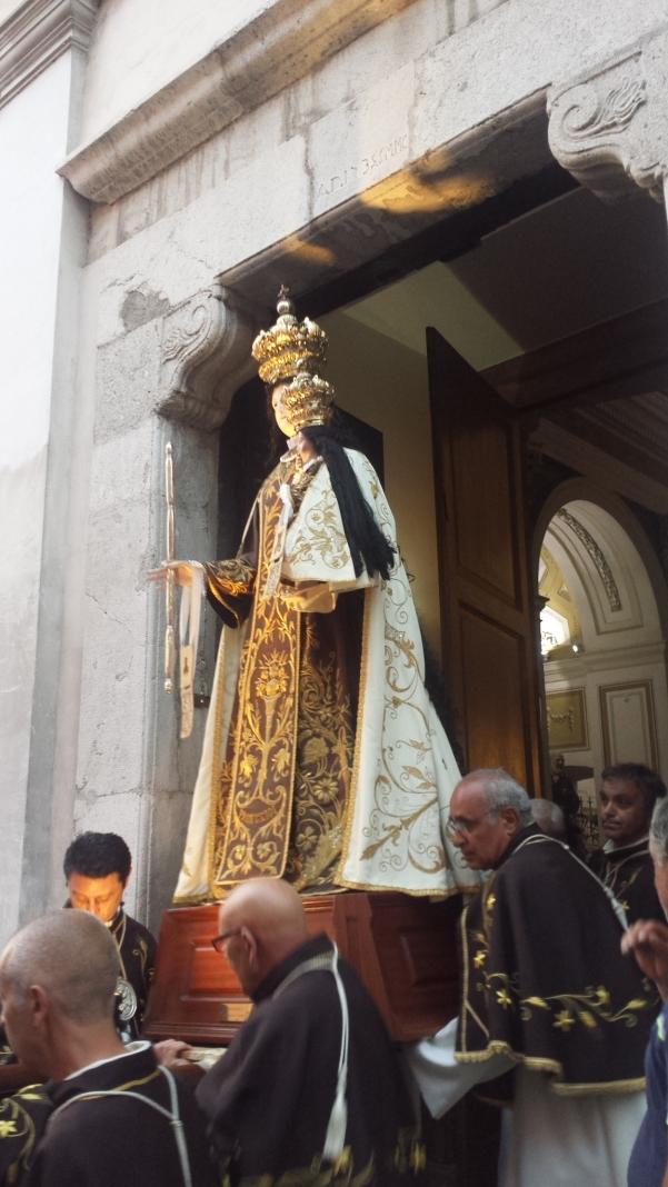 Maria Santissima del Carmelo 2015, processione7
