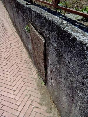 Muro pericolante scuola via Manfredi