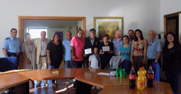 Nonni vigili premiati luglio 2015
