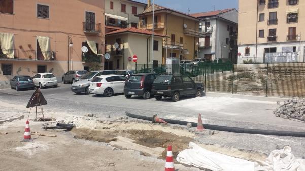 Rinvenimento piazza Garibaldi 1