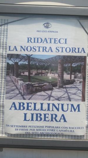 Abellinum libera, manifesto
