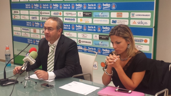 Coach Sacripanti con Maria Picariello