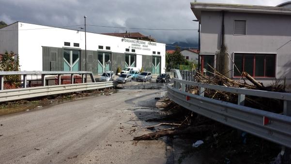 Maltempo ottobre 2015, ponte delle Filande2