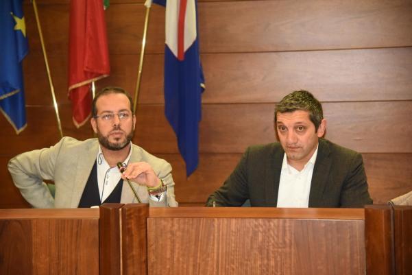 sindaco e nuovo segretario atripalda