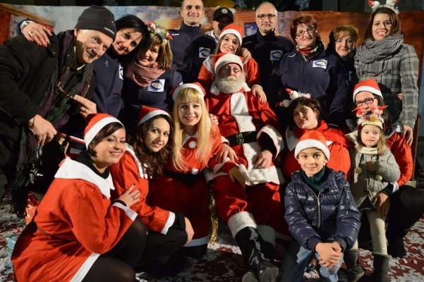Arriva Babbo Natale 2015 staff