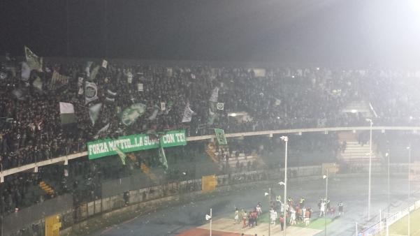 Curva Sud Avellino-Entella2