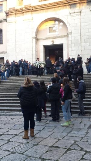 Funerali Luca Preziosi