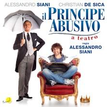 Il principe abusivo a teatro locandina