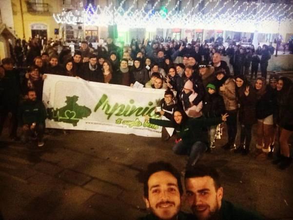 Pino Irpino tappa ad Atripalda dicembre 2015