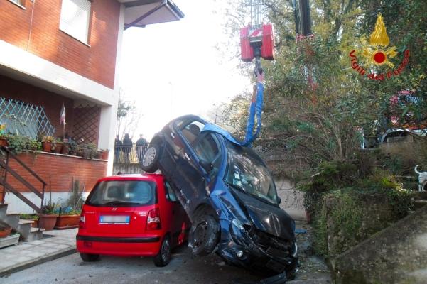 incidente a Manocalzati