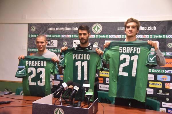 Presentazione giocatori Sbaffo-Paghera-Pucino
