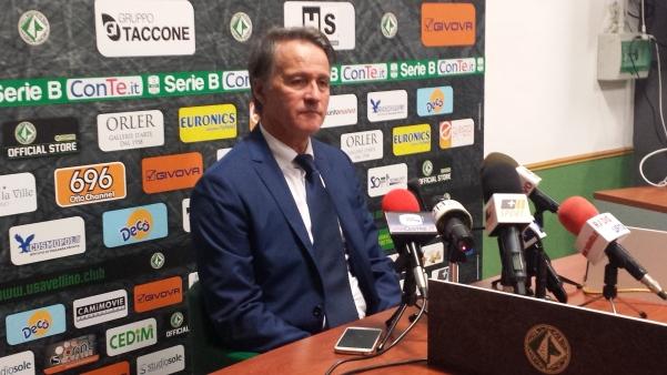Attilio Tesser allenatore Avellino