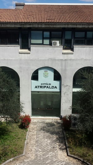 Comune di Atripalda, chiostro particolare