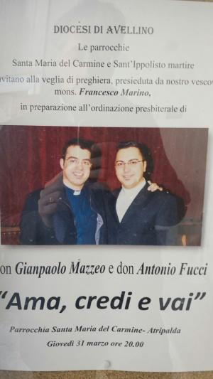 Don Mazzeo nuovo parroco