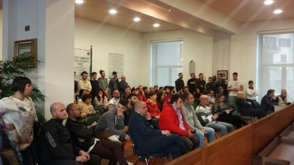 Consiglio comunale, amici di Marcello Cucciniello1