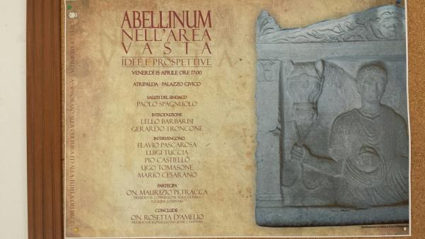 Convegno su Abellinum locandina