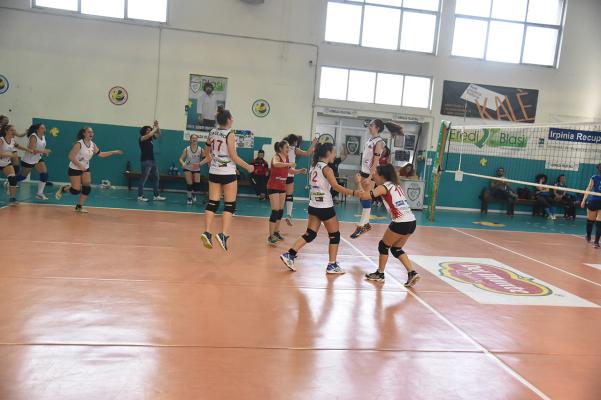 Green Volley Quadrelle