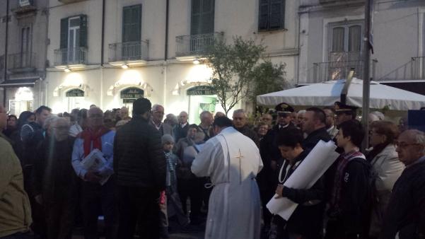 Alzata pannetto Sant'Antonio
