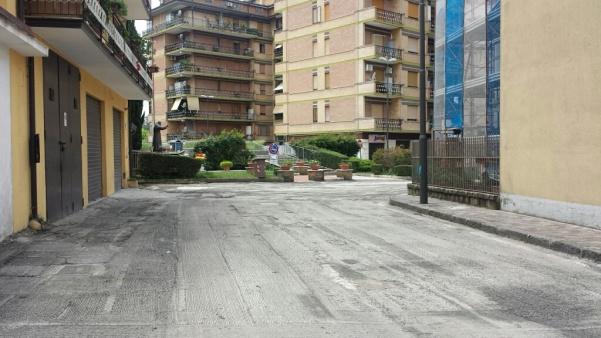 Lavori rifacimento strade in centro3