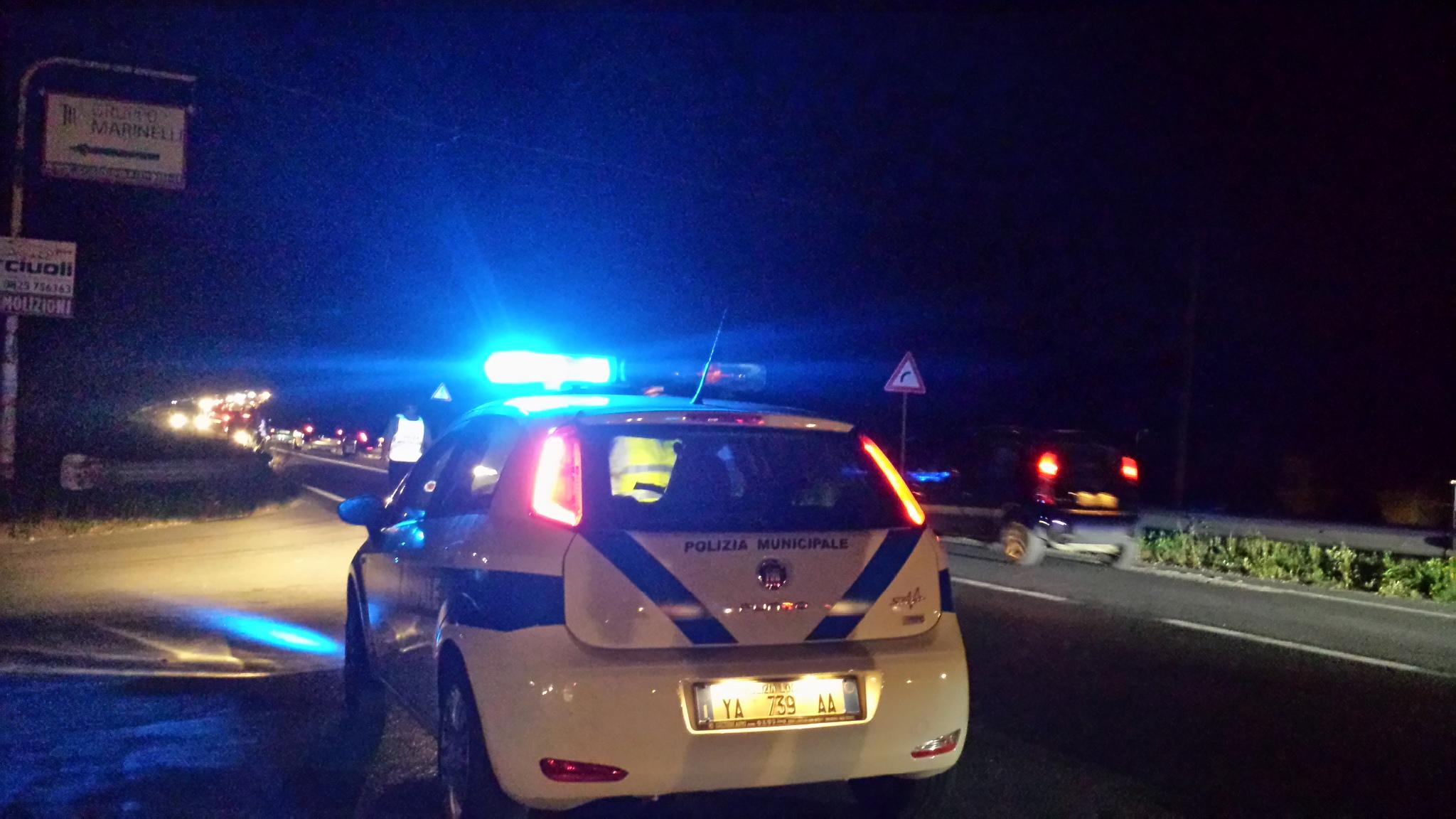 Maxi incendio sulla variante tra Avellino e Atripalda
