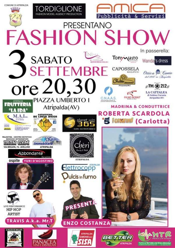 Fashion show ad Atripalda