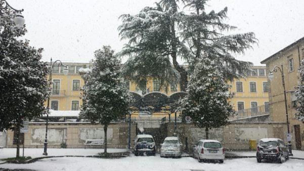 Neve, scuole chiuse a Pescara e in provincia