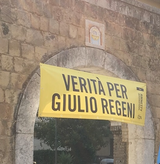 Fiaccolata per Giulio Regeni Pescara: giorno e orario
